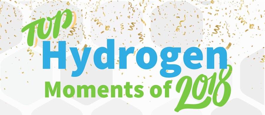Top Hydrogen Moments 2018