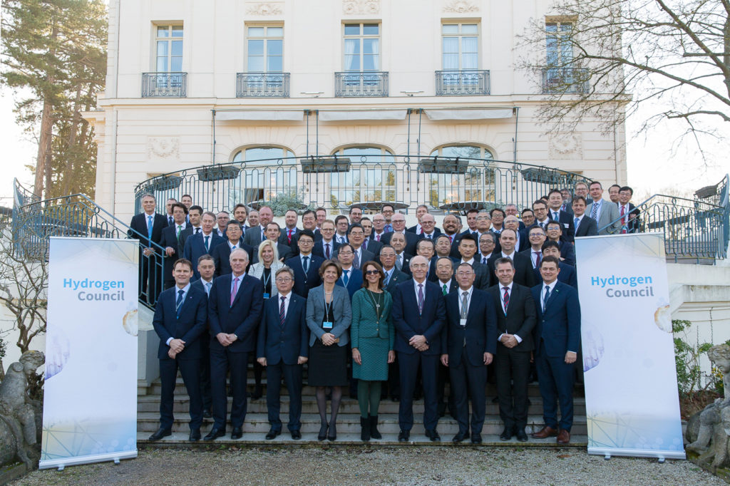 Hydrogen Council group picture