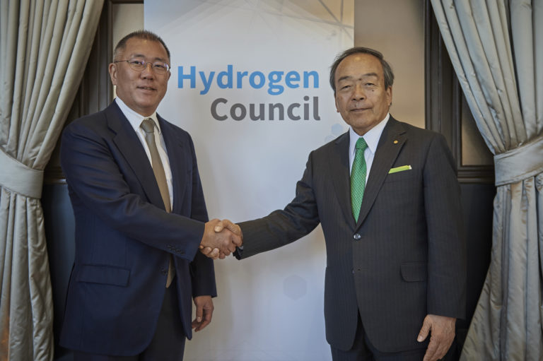 Hydrogen Council Co-chairs - Handover